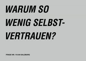 Fragen an Salzburg